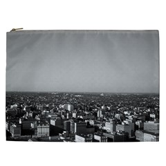 Vintage Usa Washington City Overview 1970 Cosmetic Bag (xxl) by Vintagephotos