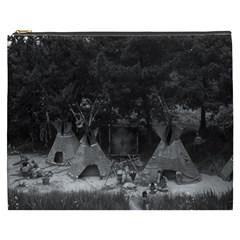 Vintage Usa California Disneyland Indian Camp 1970 Cosmetic Bag (xxxl) by Vintagephotos