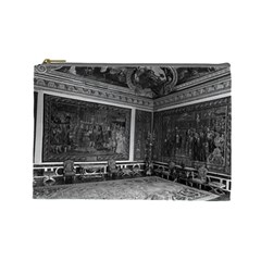 Vintage France Palace Of Versailles Apollo Chambre 1970 Large Makeup Purse by Vintagephotos