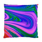 Psychedelic Pink Swirl Cushion Case (Two Sides)