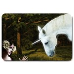 Girl & Her Unicorn Large Doormat
