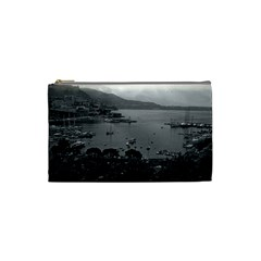 Vintage Principality Of Monaco The Port Of Monaco 1970 Small Makeup Purse by Vintagephotos