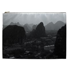 Vintage China Guilin City 1970 Cosmetic Bag (xxl) by Vintagephotos
