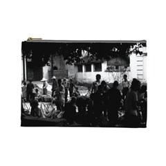 Vintage China Yangshuo Market 1970 Large Makeup Purse by Vintagephotos