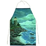 Jerrys Lighthouse by Ave Hurley - Full Print Apron
