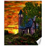 Jessica s Cottage by Ave Hurley - Canvas 8  x 10