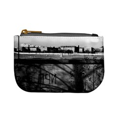 Vintage Germany Berlin Wall 1970 Coin Change Purse by Vintagephotos