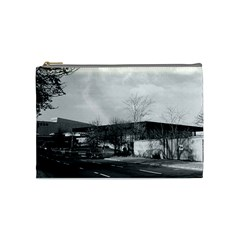 Vintage Germany Berlin New National Gallery 1970 Medium Makeup Purse by Vintagephotos