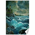 Hobson s Lighthouse by Ave Hurley - Canvas 12  x 18
