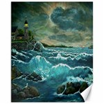 Hobson s Lighthouse by Ave Hurley - Canvas 11  x 14