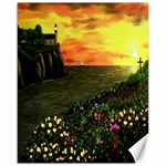 Eddies Sunset by Ave Cosgriff Hurley Canvas 16  x 20