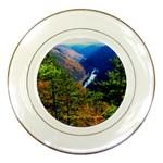 Grand Canyon of Pennsylvania - Porcelain Plate