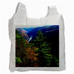 Pa Grand Canyon , South View by Ave Hurley -  Recycle Bag (Two Side)