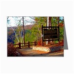 Turkey Path - East Rim Pine Creek Gorge -Pennsylvania Grand Canyon - Ave Hurley -  Mini Greeting Card