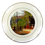 Leo Harrison St Pk  Path 8 Turkey Path Porcelain Plate