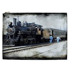 The Steam Train Cosmetic Bag (xxl)