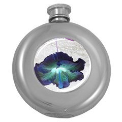 Exotic Hybiscus   Hip Flask (round)