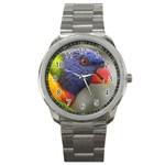 Rainbow Lorikeet Sport Metal Watch
