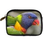 Lorikeet, Rainbow Digital Camera Leather Case