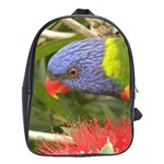 Lorikeet, Rainbow School Bag (Large)
