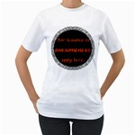 Lessons in Awesomeness Women s T-Shirt