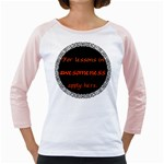 Lessons in Awesomeness Girly Raglan