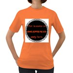 Lessons in Awesomeness Women s Dark T-Shirt