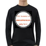 Lessons in Awesomeness Long Sleeve Dark T-Shirt
