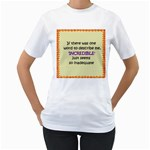 Incredible is Inadequate Women s T-Shirt