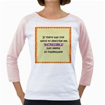 Incredible is Inadequate Girly Raglan