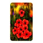 Poppies 3 by  Ave Hurley -  Memory Card Reader (Rectangular)