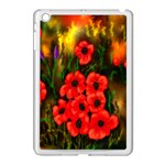 Poppies 3 by  Ave Hurley -  Apple iPad Mini Case (White)
