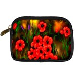 Poppies 3 by  Ave Hurley -  Digital Camera Leather Case