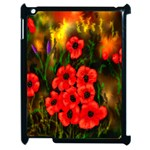 Poppies 3 by  Ave Hurley -  Apple iPad 2 Case (Black)