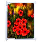 Poppies 3 by  Ave Hurley -  Apple iPad 2 Case (White)