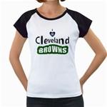 I love I heart Cleveland Browns Women s Cap Sleeve T