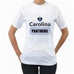 I love I heart Carolina Panthers Apparel Women s T-Shirt