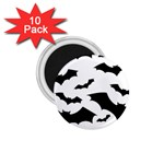 Deathrock Bats 1.75  Magnet (10 pack)