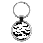 Deathrock Bats Key Chain (Round)