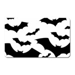 Deathrock Bats Magnet (Rectangular)
