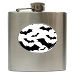 Deathrock Bats Hip Flask (6 oz)