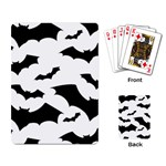 Deathrock Bats Playing Cards Single Design