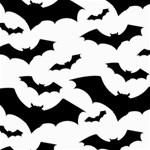 Deathrock Bats Canvas 16  x 16