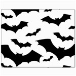 Deathrock Bats Canvas 11  x 14