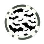 Deathrock Bats Poker Chip Card Guard