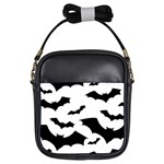 Deathrock Bats Girls Sling Bag
