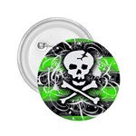 Deathrock Skull 2.25  Button