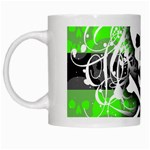 Deathrock Skull White Mug