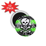 Deathrock Skull 1.75  Magnet (10 pack)