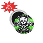 Deathrock Skull 1.75  Magnet (100 pack)